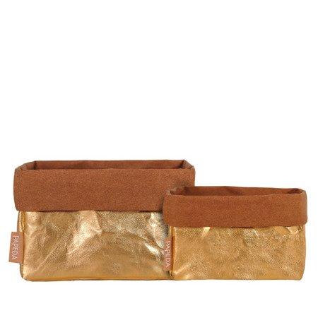 Organizer kolor złoty rozmiar M(OP 1517) wymiary 11 cm x 17 cm x 11/16* cm