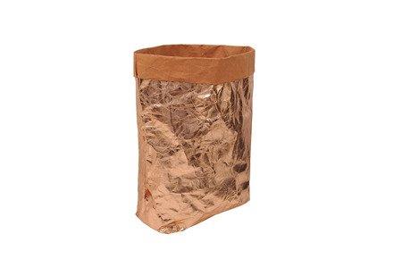 Worek różowe złoto  XL (WP 1707)